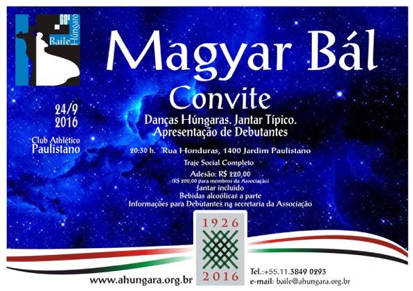 Convite Baile Por